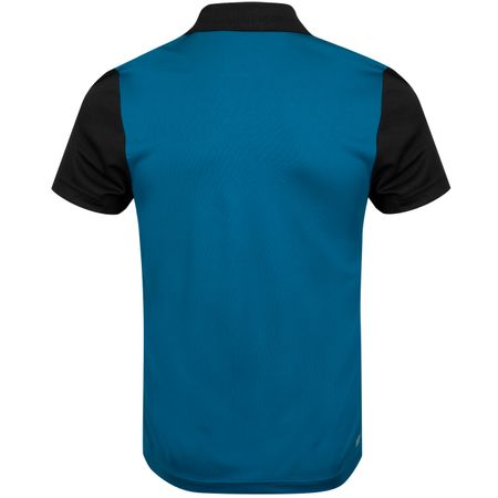 Golf undefined Ultra Dry Tape Colourblock Polo Black/Illumination - AW19 made by Lacoste