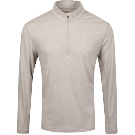 Golf undefined Embo Quarter Zip Light Grey Heather - AW19 made by Dunning