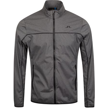 Golf undefined Liam Piped Stretch Wind Pro Jacket Dark Grey Melange - AW19 made by J.Lindeberg
