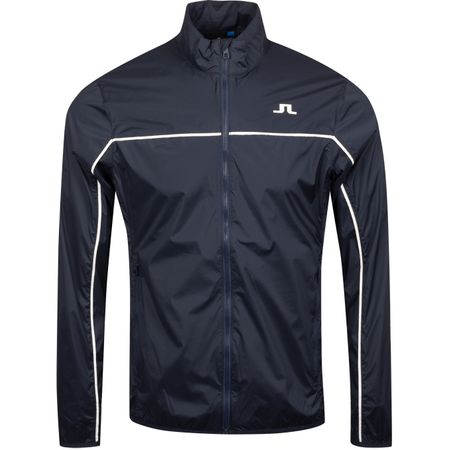 Golf undefined Liam Piped Stretch Wind Pro Jacket JL Navy - AW19 made by J.Lindeberg