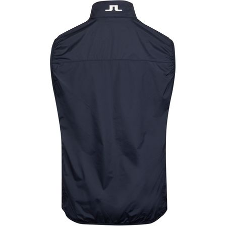 Golf undefined Luke Piped Stretch Wind Pro Vest JL Navy - AW19 made by J.Lindeberg