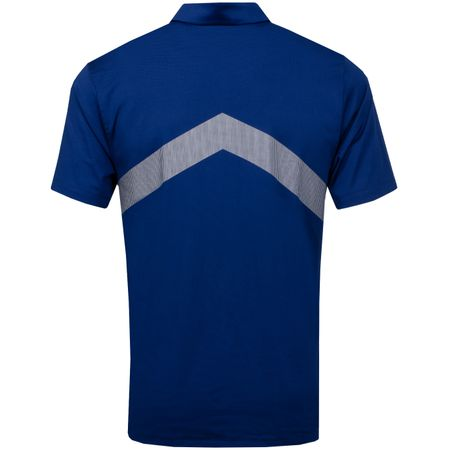 Polo Dry Vapor Reflect Polo Blue Void/Silver - AW19 Nike Golf Picture