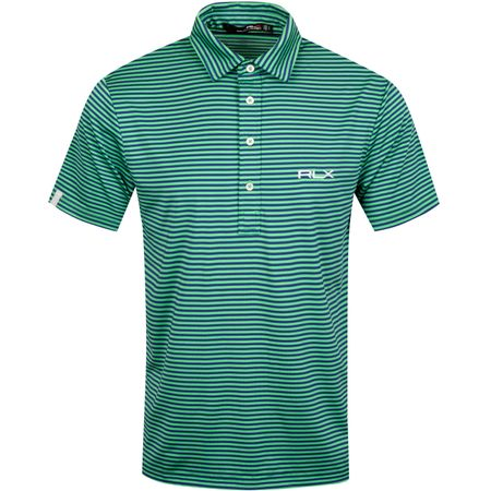 Polo Feed Stripe Airflow Classic Kelly/Sporting Royal - AW19 Polo Ralph Lauren Picture
