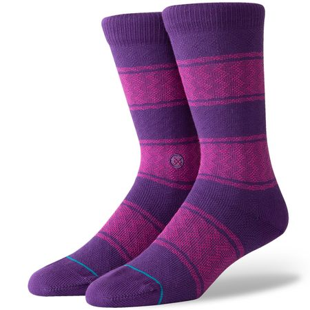 Golf undefined Serape Socks Purple - AW19 made by Stance