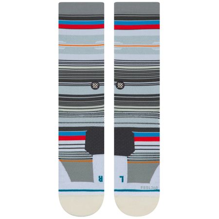 Socks Punchshot Crew Socks White - AW19 Stance Picture