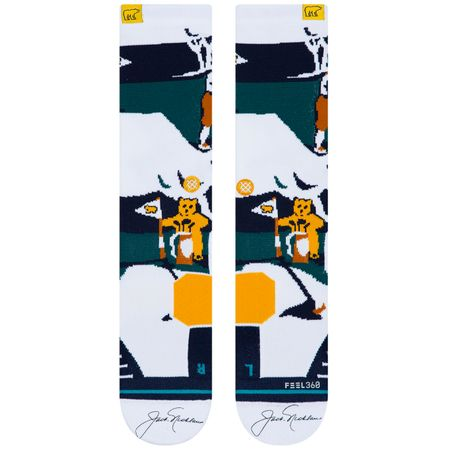 Golf undefined Nicklaus Crew Socks Multi - AW19 made by Stance