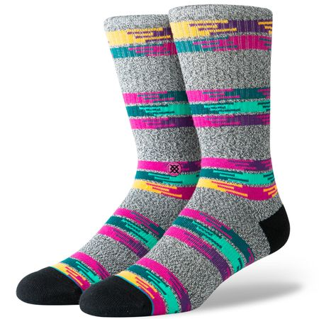 Golf undefined Jackee Crew Socks Grey - AW19 made by Stance