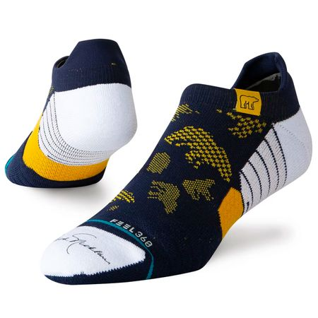 Golf undefined Nicklaus Tab Socks Navy - AW19 made by Stance