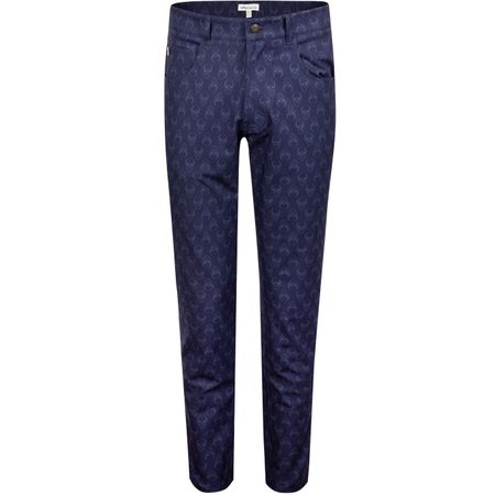 Golf undefined Carrboro Performance Skull Five Pocket Pants Navy - AW19 made by Peter Millar