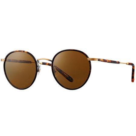Sunglasses Wilson 49 Bourbon Tortoise Matte/Spotted Tortoise/Pure Brown - 2019 Garrett Leight Picture