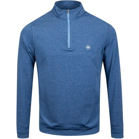 Golf undefined Perth Space Dye Quarter Zip Submarine - AW19 made by Peter Millar