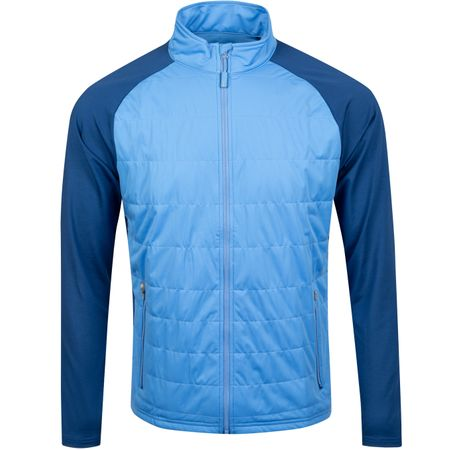 Golf undefined Merge Stretch Full Zip Hybrid Liberty Blue - AW19 made by Peter Millar