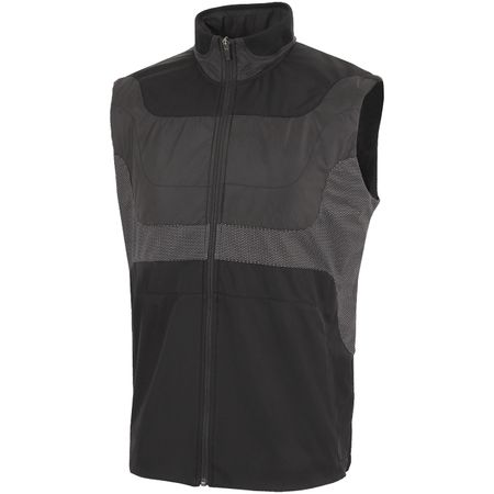 Golf undefined Louis Interface-1 Bodywarmer Black/Sharkskin - AW19 made by Galvin Green
