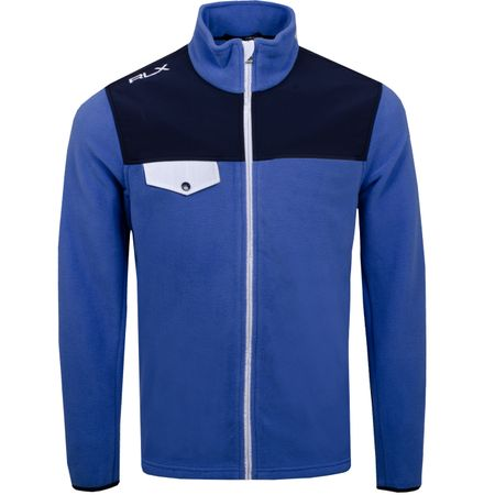 Golf undefined FZ Chest Pocket Fleece Indigo Sky/French Navy - AW19 made by Polo Ralph Lauren