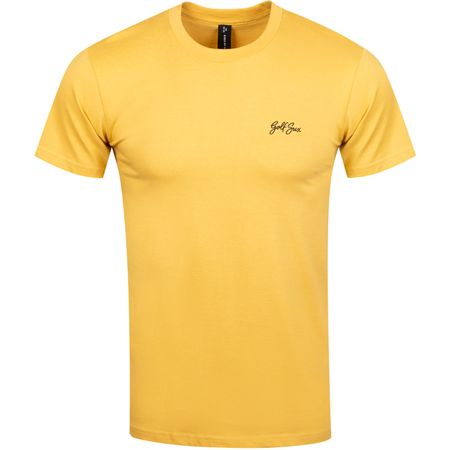 Golf undefined Golf Sux Tee Mustard - 2019 made by Birds of Condor
