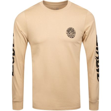 Golf undefined Birdie Bogey LS Tee Tan - 2019 made by Birds of Condor