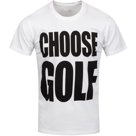 Golf undefined Choose Golf Tee White - 2019 made by Birds of Condor