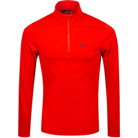 Golf undefined Kimball Half Zip Light Peach Racing Red - AW19 made by J.Lindeberg
