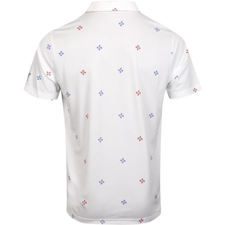 Polo Ditsy Polo Bright White - AW19 Puma Golf Picture