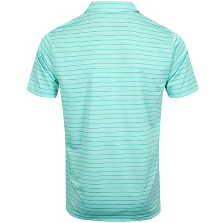 Polo Rotation Stripe Polo Blue Turquoise - AW19 Puma Golf Picture