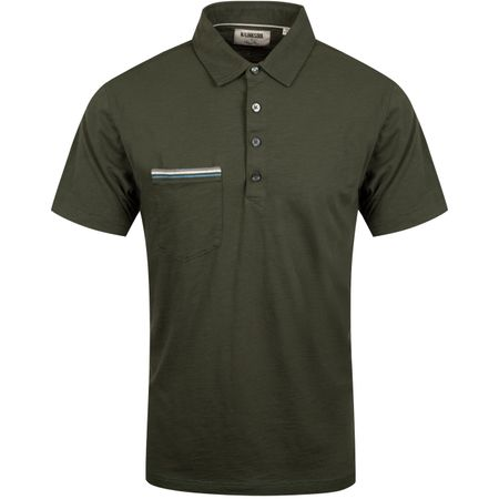 Golf undefined Cotton Slub Pocket Polo Sycamore - AW19 made by Linksoul