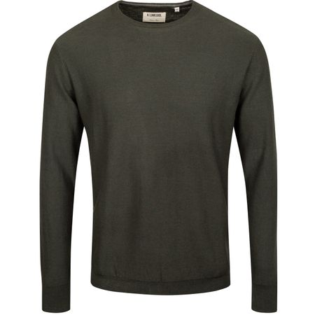 Golf undefined Cotton Cashmere Crew Sweater Sycamore Heather - AW19 made by Linksoul
