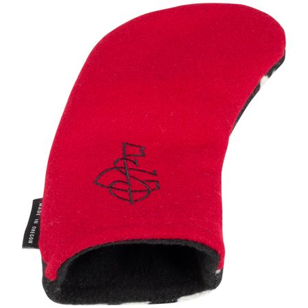Accessory The Vintage Hybrid Headcover Black - 2019 Seamus Golf Picture