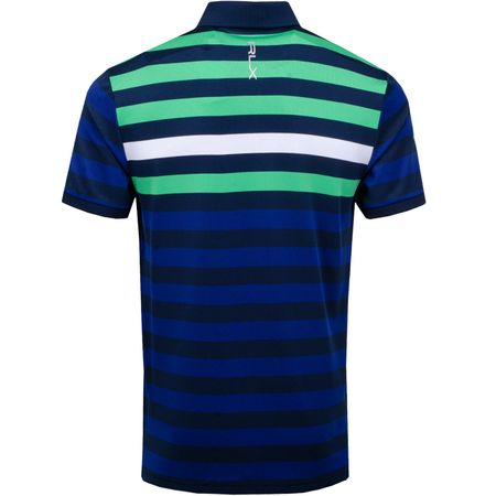 Golf undefined Bold Stripe Yarn Dye Tech Pique Pure White Multi - AW19 made by Polo Ralph Lauren