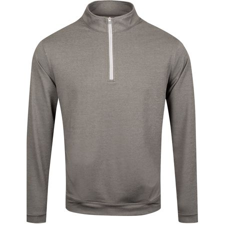 Golf undefined Perth Quarter Zip Melange Smoke - AW19 made by Peter Millar