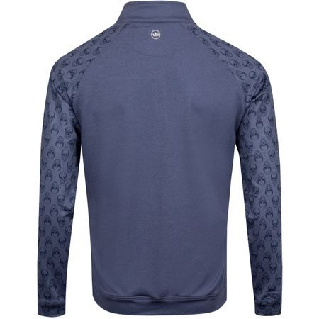 Golf undefined Perth Skull Raglan Navy - AW19 made by Peter Millar