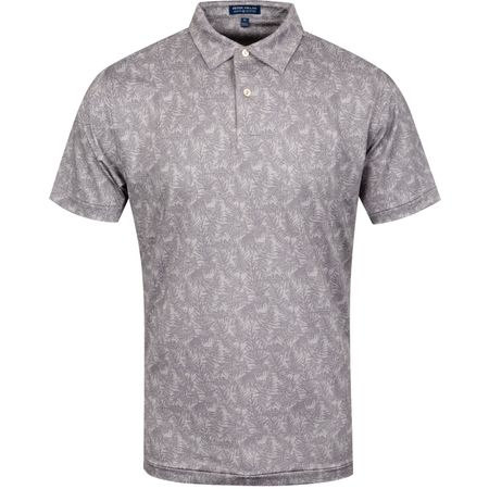 Golf undefined Dolphy Print Floral Stretch Jersey Gale Grey - AW19 made by Peter Millar
