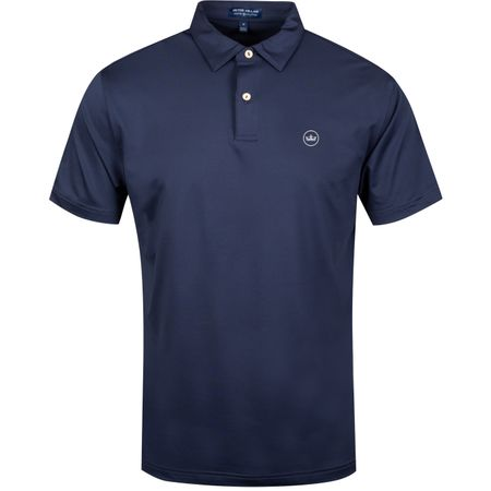 Golf undefined Solid Stretch Jersey Navy - AW19 made by Peter Millar