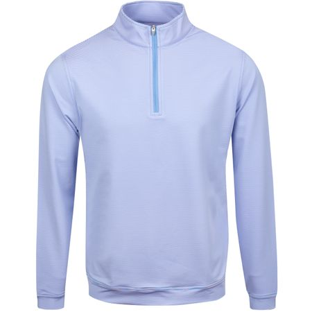 Golf undefined Perth Sugar Stripe Quarter Zip Liberty Blue - AW19 made by Peter Millar