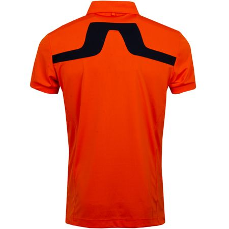 Polo KV Regular TX Jersey Juicy Orange - AW19 J.Lindeberg Picture