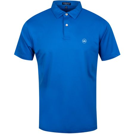 Golf undefined Solid Stretch Jersey Rebel Blue - AW19 made by Peter Millar