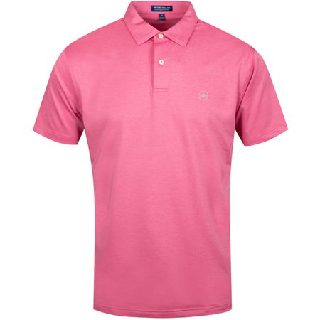 Polo Solid Stretch Jersey Antique Rose - AW19 Peter Millar Picture