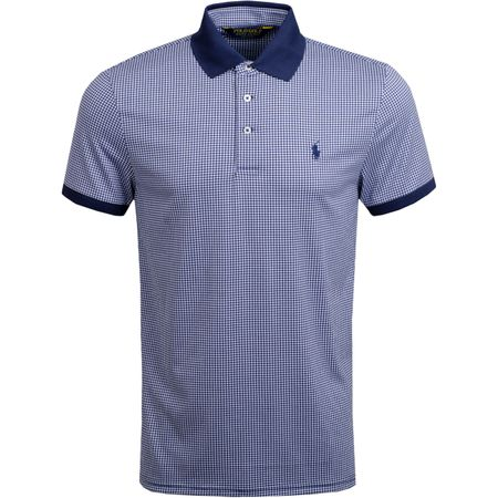 Golf undefined Printed Luxe Jersey Gingham Navy - AW19 made by Polo Ralph Lauren