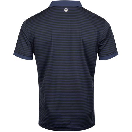 Golf undefined Hines Stripe Stretch Pique Mesh Navy - AW19 made by Peter Millar