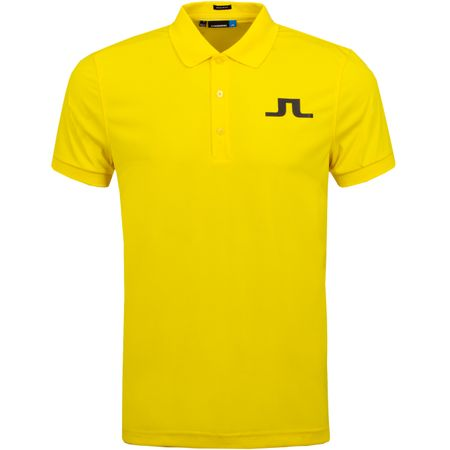 Golf undefined Big Bridge Regular TX Jersey Banging Yellow - AW19 made by J.Lindeberg