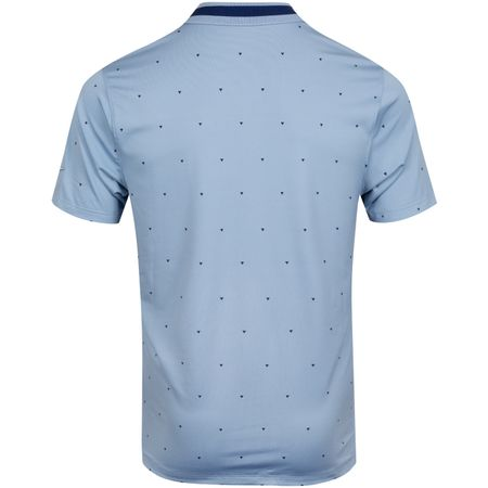 Golf undefined Dry Vapor Print Polo Indigo Fog/Blue Void - AW19 made by Nike Golf