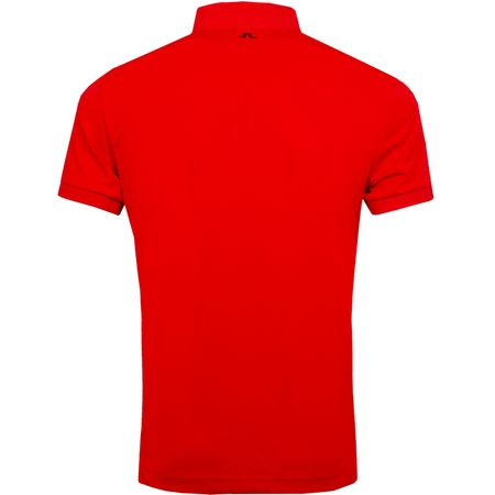 Golf undefined Eddy Slim TX Jersey Racing Red - AW19 made by J.Lindeberg