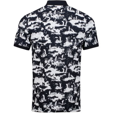 Golf undefined Polo Toile Print Black - AW19 made by Nike Golf