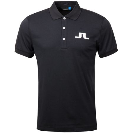 Golf undefined Big Bridge Regular TX Jersey Black - AW19 made by J.Lindeberg