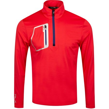 Golf undefined Brushback Tech Jersey Deep Orangey Red - AW19 made by Polo Ralph Lauren