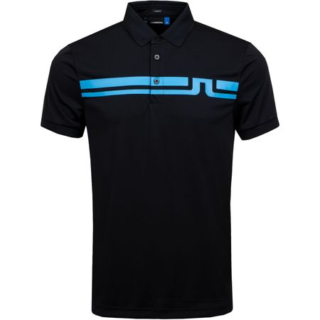 Golf undefined Eddy Slim TX Jersey Black - AW19 made by J.Lindeberg