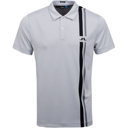 Golf undefined Anton Regular TX Jacquard Stone Grey - AW19 made by J.Lindeberg