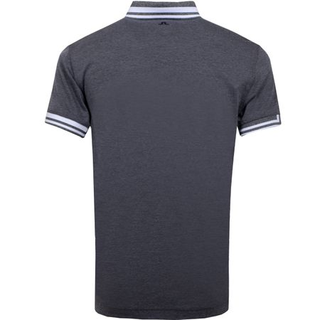 Golf undefined Bruce Regular Cotton Poly Dark Grey Melange - AW19 made by J.Lindeberg