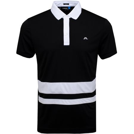 Golf undefined Lucas Slim TX Jersey Black - AW19 made by J.Lindeberg