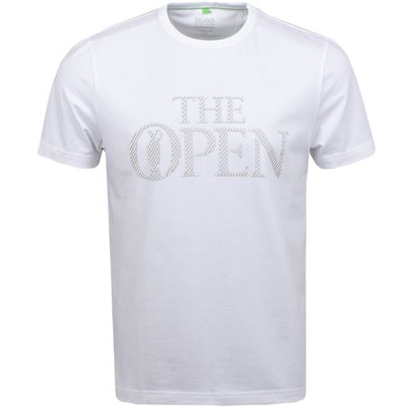 Golf undefined British Open Tee Training White made by BOSS