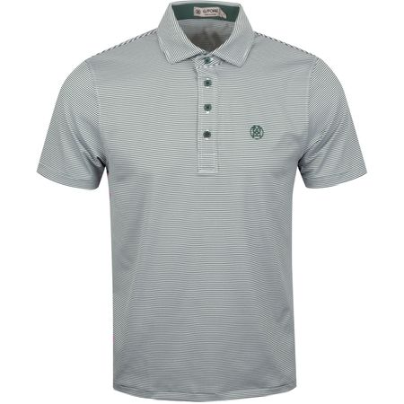 Golf undefined Feeder Stripe Polo Pine - AW19 made by G/FORE
